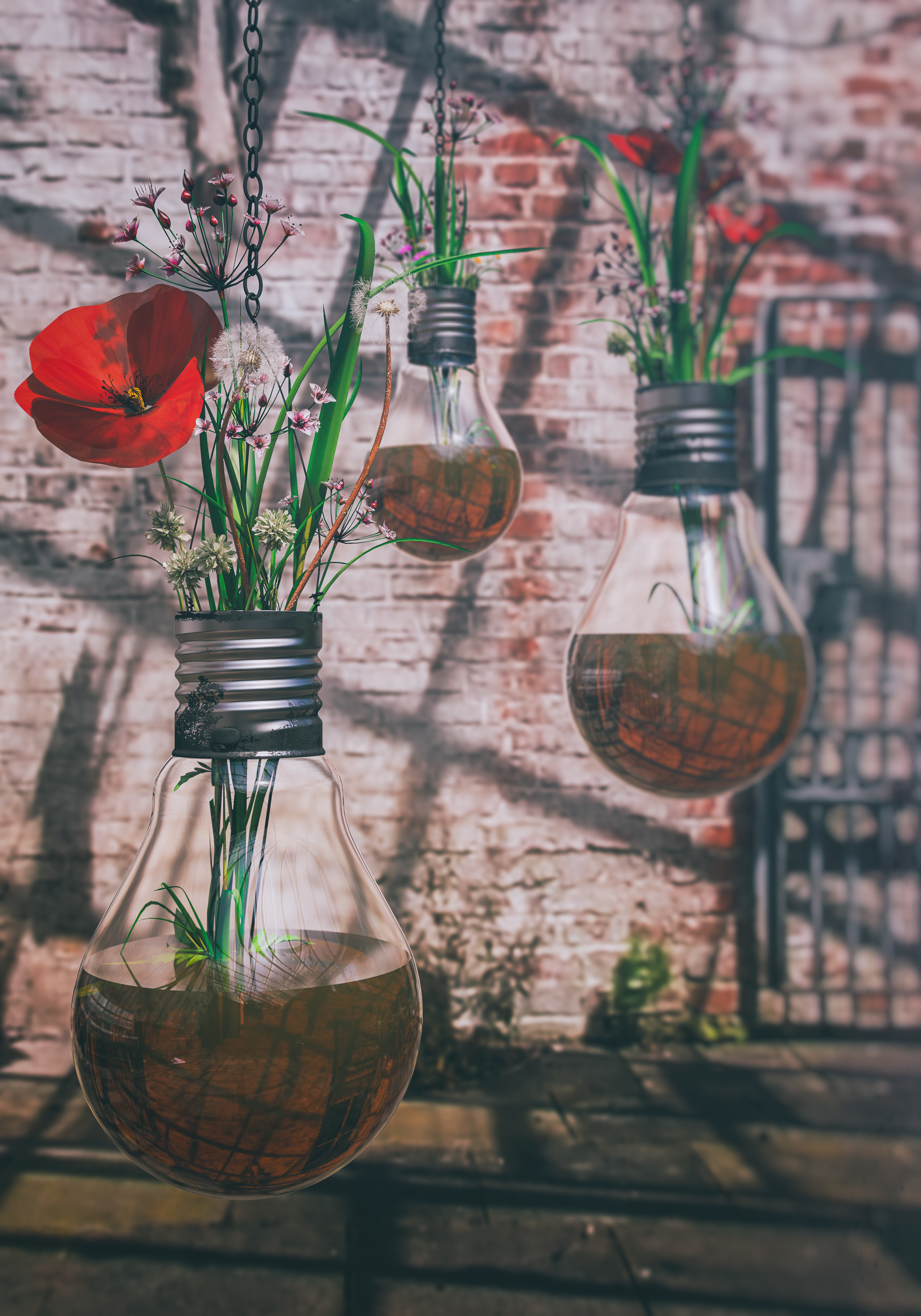 Birthday Bulb Flowerpot
