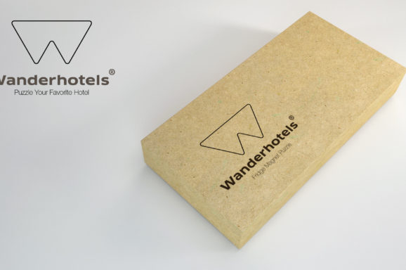 Wanderhotels Fridge Magnet Puzzle